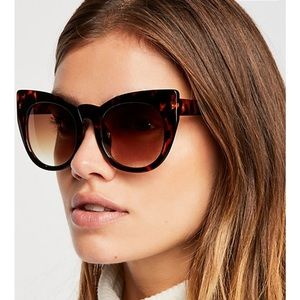 Free People cat eye sunglasses